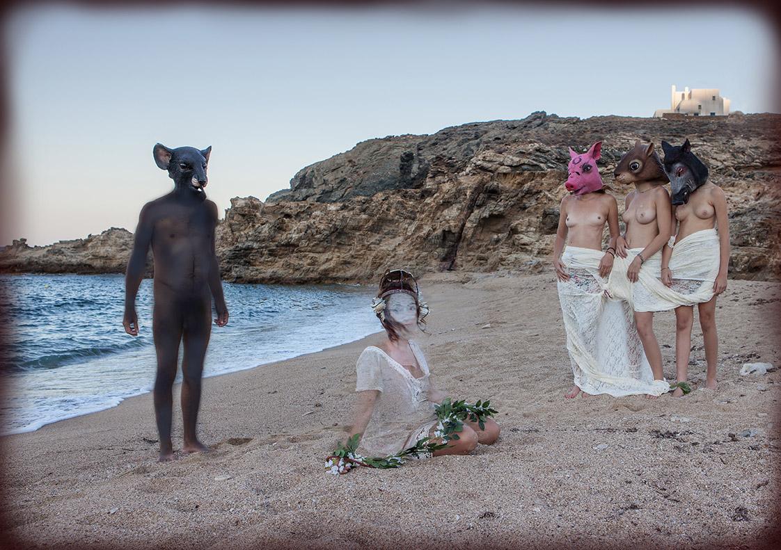 Mykonos Biennale, Crisis and Paganism by Lydia Venieri