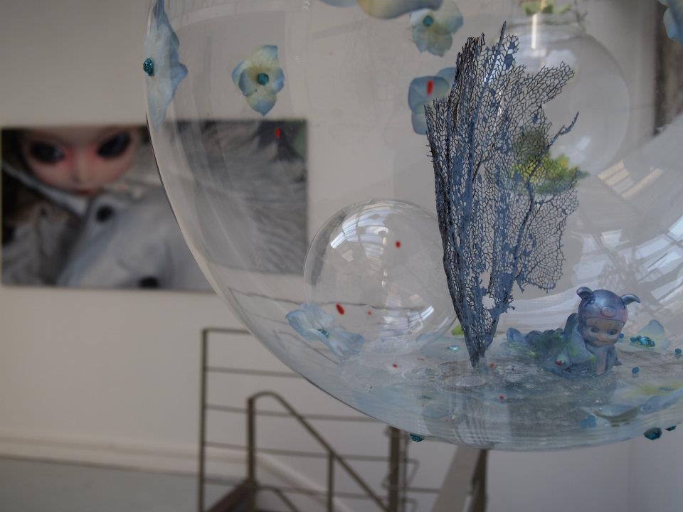 THE CONSPIRACY OF THE DOLPHINS, a solo show by Lydia Venieri