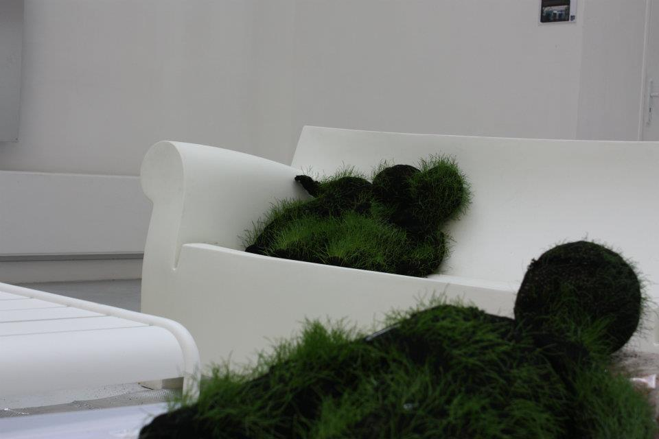 LIVING ROOM, a solo show by Michaël Cros