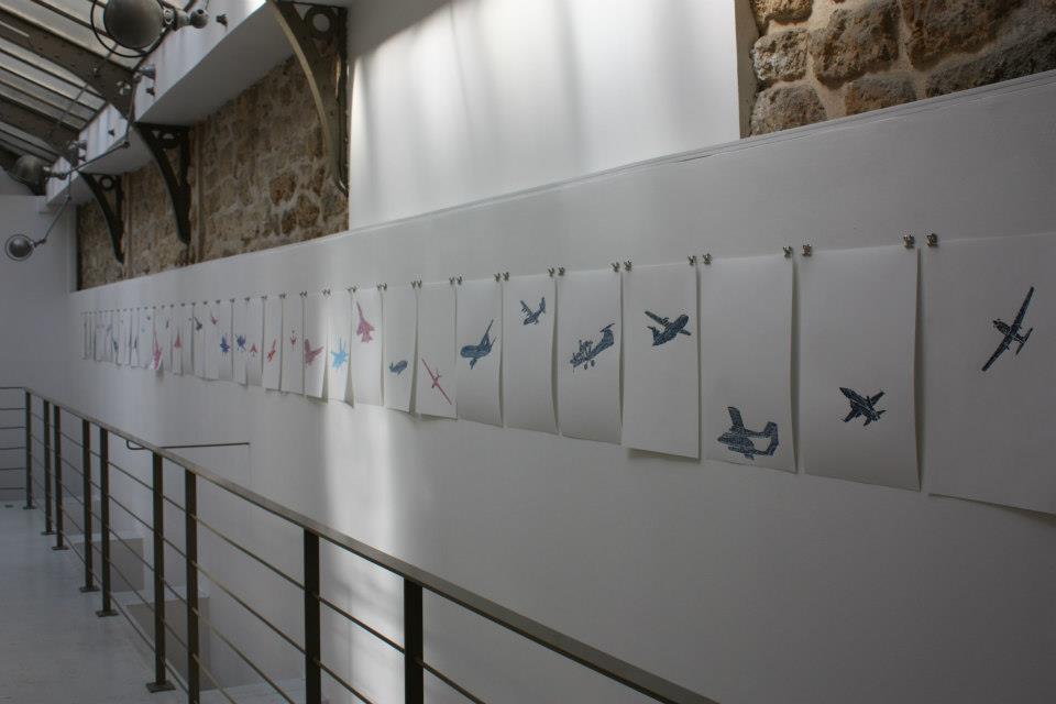 BLACK LIGHT, group show curators Barbara Polla&Victor de Bonnecaze
